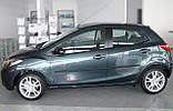 Молдинги на двері для Mazda 2 (DE) 2007-2014, фото 2