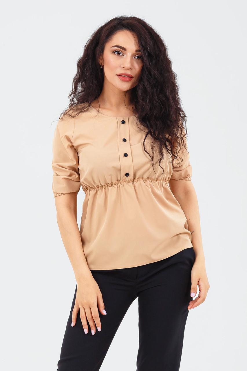 Вишукана жіноча блузка Mary, бежевий