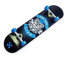 СкейтБорд деревянный от Fish Skateboard Cool Dog