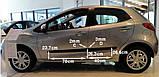 Молдинги на двері для Mazda 2 (DE) 2007-2014, фото 3