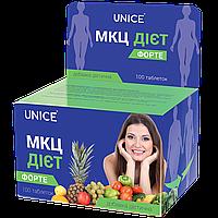 Натуральный препарат Unice МКЦ Диет форте Для похудения, 100 таблеток