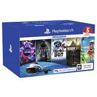 Окуляри віртуальної реальності SONY PlayStation VR (VR MegaPack + 5 ігор в комплекті)) (9998600)