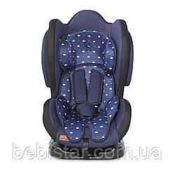 Автокресло синее Lorelli Sigma + SPS (0-25 кг) с рождения и до 7 лет