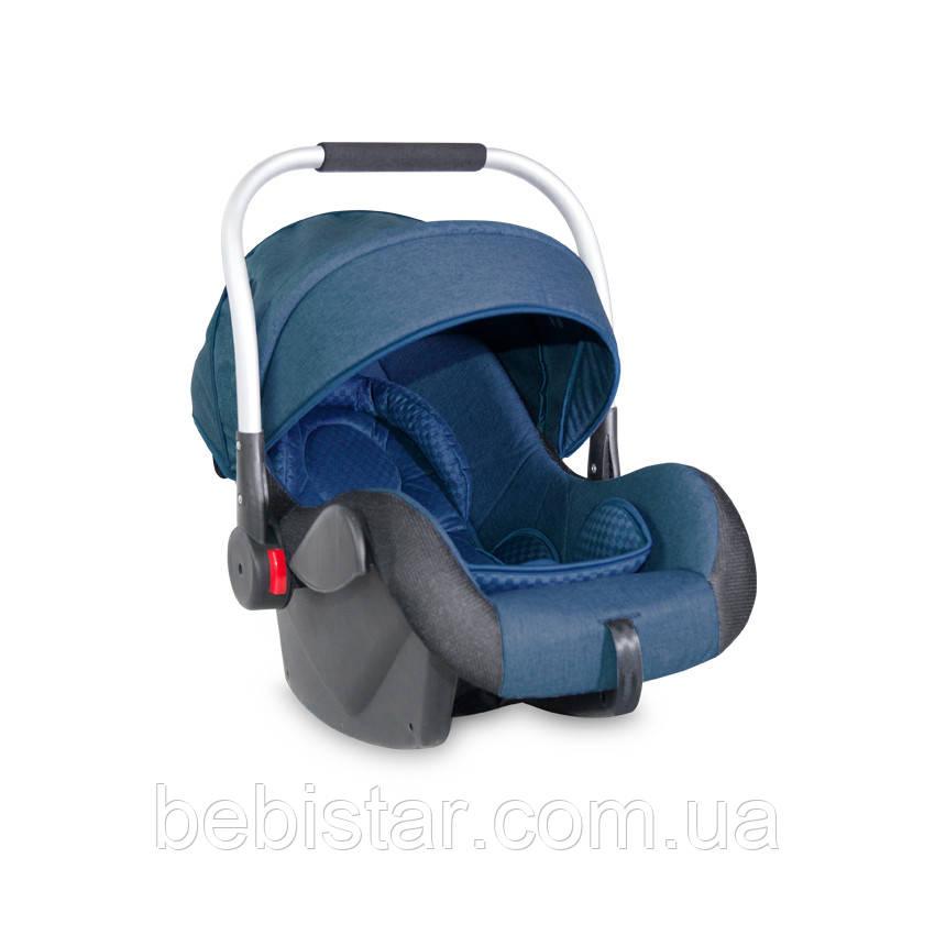 Автокресло переноска синее Lorelli Delta (0-13 кг) с рождения и до 15 месяцев