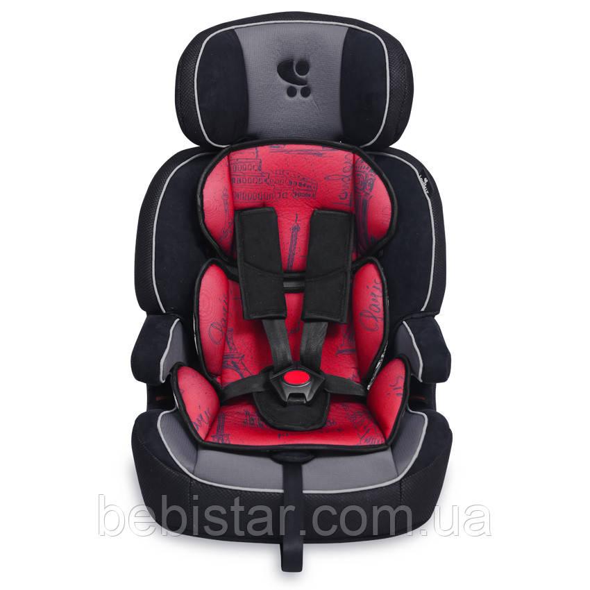 Автокресло Lorelli Navigator (9-36 кг) Черно-красный от 9 месяцев до 12 лет