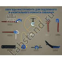 Стенд-планшет «Инструмент для подземного и капитального ремонта скважин»