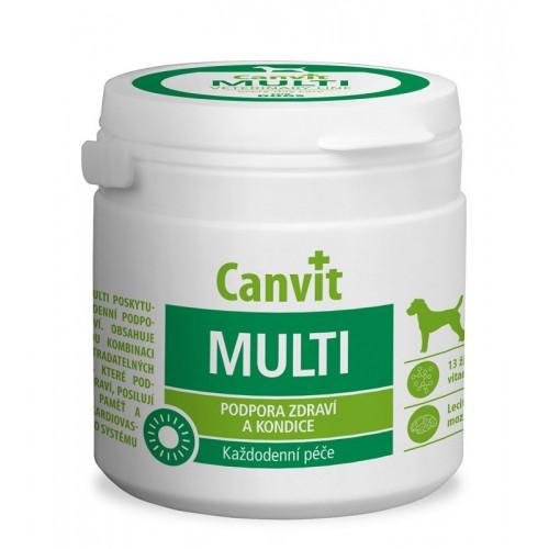 Витаминная добавка Canvit Multi for Dogs для улучшения физической формы у собак, 100 г