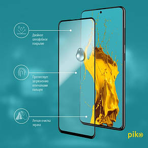 Захисне скло Piko для Samsung Galaxy A51 SM-A515 Black Full Glue, 0.3 mm, 2.5 D (1283126496950), фото 3
