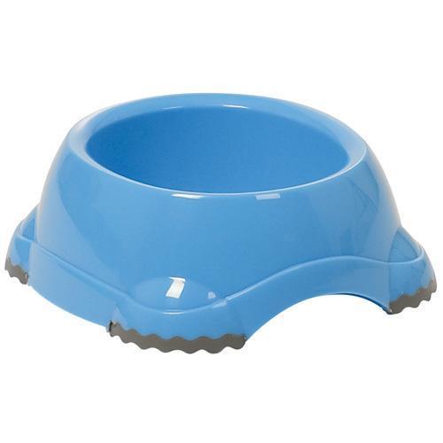 Миска Moderna Смарти №3 для собак, пластик, светло-серая, 1245 мл, d-19 см
