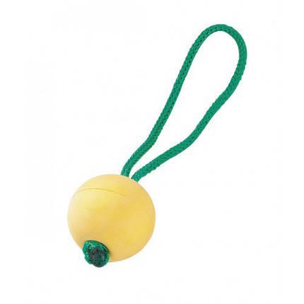 Резиновый мяч Sprenger с ручкой для собак, плавающий, 6,5 см, фото 2