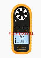 Анемометр GM816 вимірювач потоку повітря