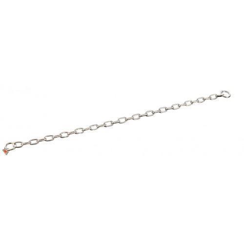 Ошейник Sprenger Long Link для собак, со средним звеном, нержавеющая сталь, 3 мм, 61 см