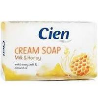 Твердое крем-мыло Cien Milk & Honey Cream Soap ,150 гр.