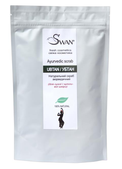 Аюрведический скраб УБТАН для сухой кожи, 150 г, Swan