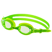 Очки для плавания детские Mad Wave JUNIOR AUTOSPLASH Поликарбонат Силикон Зеленый(СПО M041902)