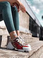 Кроссовки сникеры женские Dior Fenix (2020, Диор, размер 36, 37, 38, 39, 40) кросівки жіночі діор