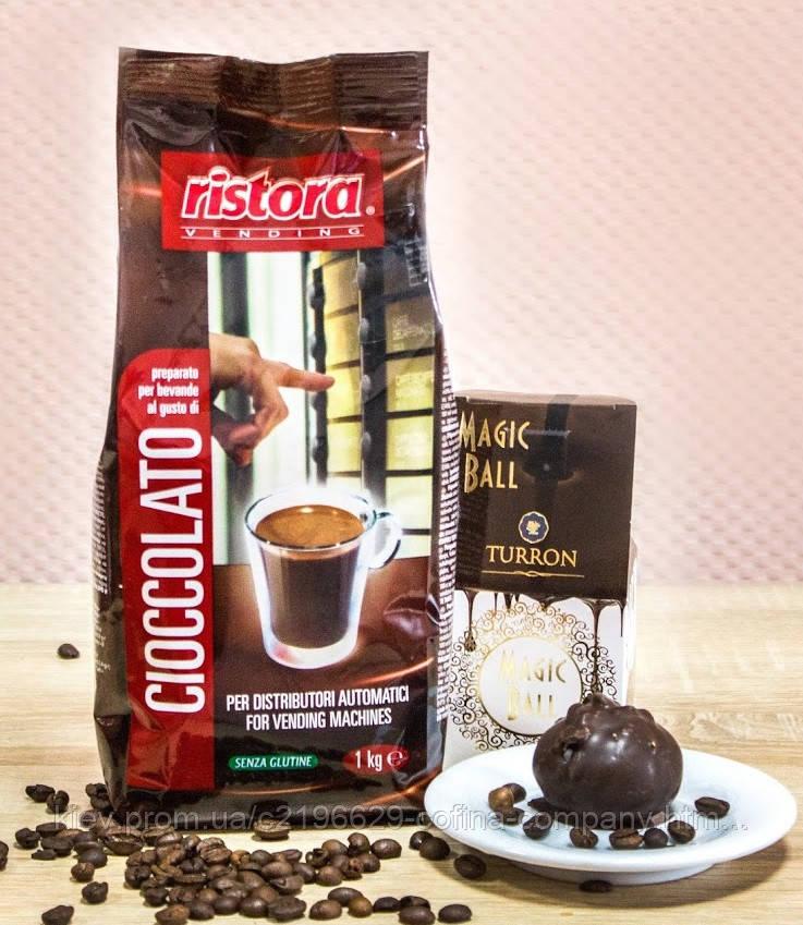 Грячий шоколад RISTORA растворимый, 1кг.