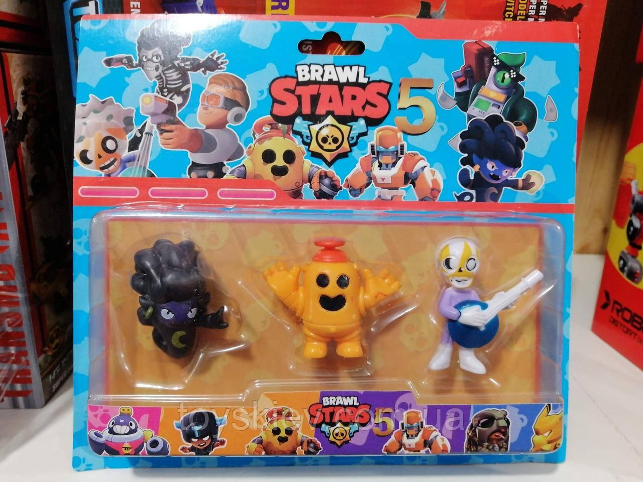 Игровой набор фигурок Brawl Stars Бравл старс