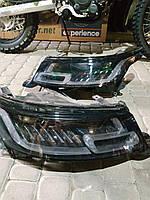 Передняя оптика Range Rover Sport L494