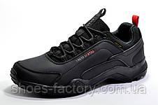 Мужские осенние кроссовки BaaS Terrex, Black (Нубук), фото 3