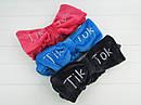 Повязки для умывания Tik Tok велюровые 12 шт/уп. без выбора цвета, фото 5
