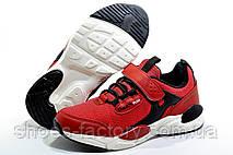 Детские осенние кроссовки на липучке Baas, Red (Защита от воды), фото 2