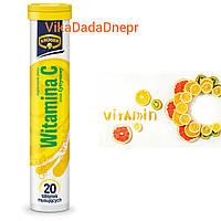 Витамины растворимые шипучие KRUGER VITAMIN C 20 шт