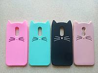 Чехол Coverphone для Xiaomi Redmi 5 Plus 3D Резиновый Усатый Кот
