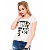 Женская футболка, 90-21168