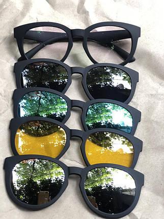 Очки солнцезащитные антибликовые Magic Vision 5 в 1, фото 2
