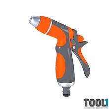 Пистолет распылитель 2-х режимный (ABS+AL+TPR) FLORA 5011414