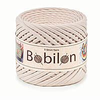 Трикотажная пряжа Bobilon (5-7 мм), цвет Айвори