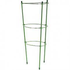 Поддержка для растений круглая H 150 см, металл в пластике, 5 колец Palisad