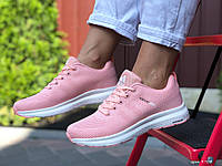 Кроссовки женские демисезонные в стиле Adidas Neo, розовые