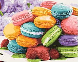 Картина по номерам Изысканный десерт