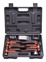 Набор рихтовочных молотков профессиональных с правками 7 пр. Harden Tools 590527