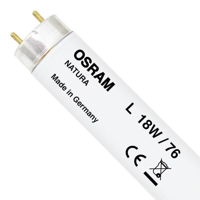 Лампа люминесцентная для презентации еды T8 L 18w/76 OSRAM NATURA G13