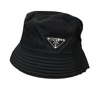 Панама Шляпа PRADA Прада Черная односторонняя