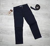 Синие брюки на мальчика 6-8 лет