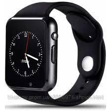 Смарт часы A1 Черные Original Smart Watch Смарт часи A1