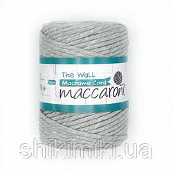 Эко шнур Macrame Cord 5 mm, цвет Серый меланж