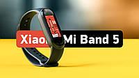 Фитнес-трекер Xiaomi Mi Smart Band 5 Black Оригинал! (CN)