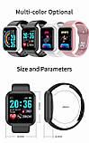 Смарт часы i5  (Smart Watch) Умные часы Фитнес браслет Чёрные, фото 2