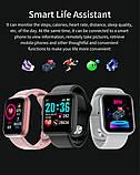 Смарт годинник i5 (Smart Watch) Розумні годинник Фітнес браслет Чорні, фото 3