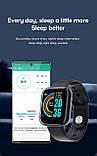 Смарт годинник i5 (Smart Watch) Розумні годинник Фітнес браслет Чорні, фото 4