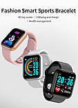 Смарт годинник i5 (Smart Watch) Розумні годинник Фітнес браслет Чорні, фото 7