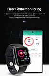Смарт годинник i5 (Smart Watch) Розумні годинник Фітнес браслет Чорні, фото 9