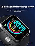 Смарт годинник i5 (Smart Watch) Розумні годинник Фітнес браслет Чорні, фото 8