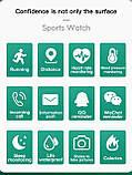 Смарт годинник i5 (Smart Watch) Розумні годинник Фітнес браслет Чорні, фото 10