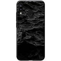 Чехол на Samsung Galaxy A20 / Samsung Galaxy A30 / Самсунг Галакси А20 / Самсунг Галакси А30 море / черный
